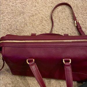 Tory Burch Bags - Burgundy Tory Burch purse